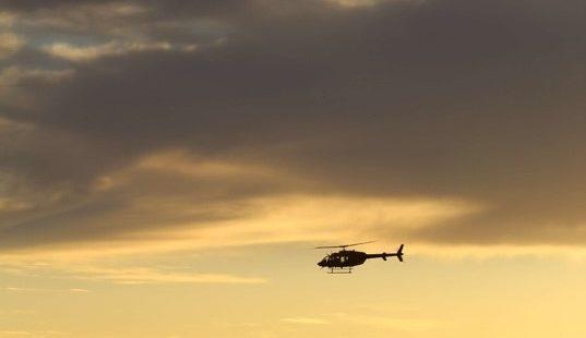 Ook al eens een helikopter gehuurd? Een aanrader!
