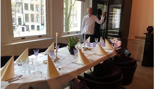 Diner aan huis Amsterdam
