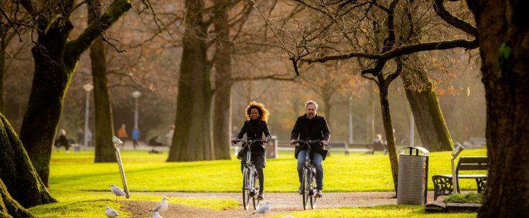 Een middag niks te doen? Ga op pad met de elektrische fiets!